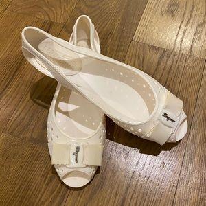 Salvatore Ferragamo Rubber Sandals Swim Shoes